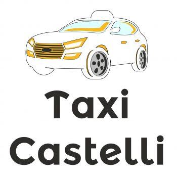 Logo Taxi Castelli quadrato